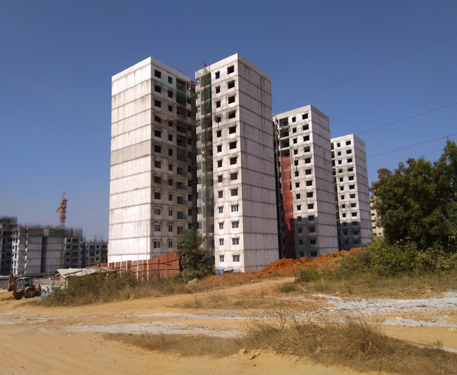 Construction of 2 BHK Housing Project at Kommaghatta Village under Nadaprabhu Kempegowda Layout in Kengeri Hobli, Bangalore (Phase III)