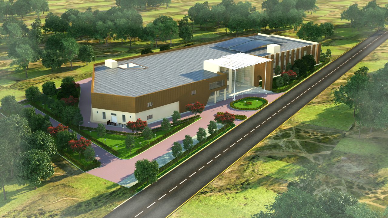 Construction of Skill Development Centre and hostel blocks at IISc, Challakere Campus, Challakere, District – Chitradurga